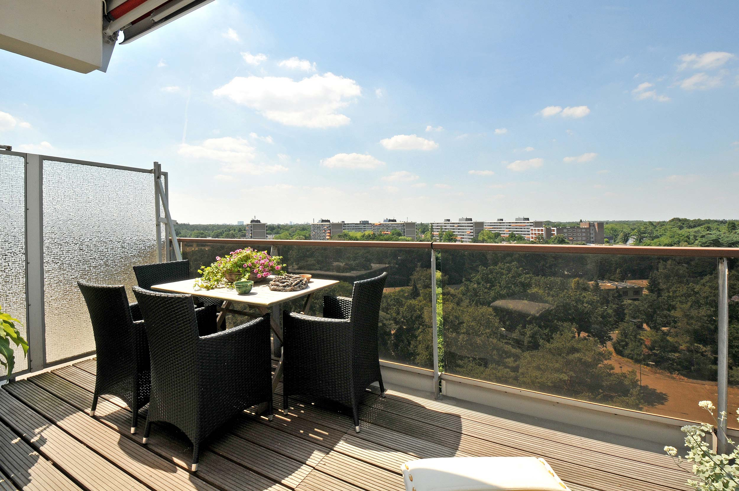 Serviceflat Houdringe balkon tuinset