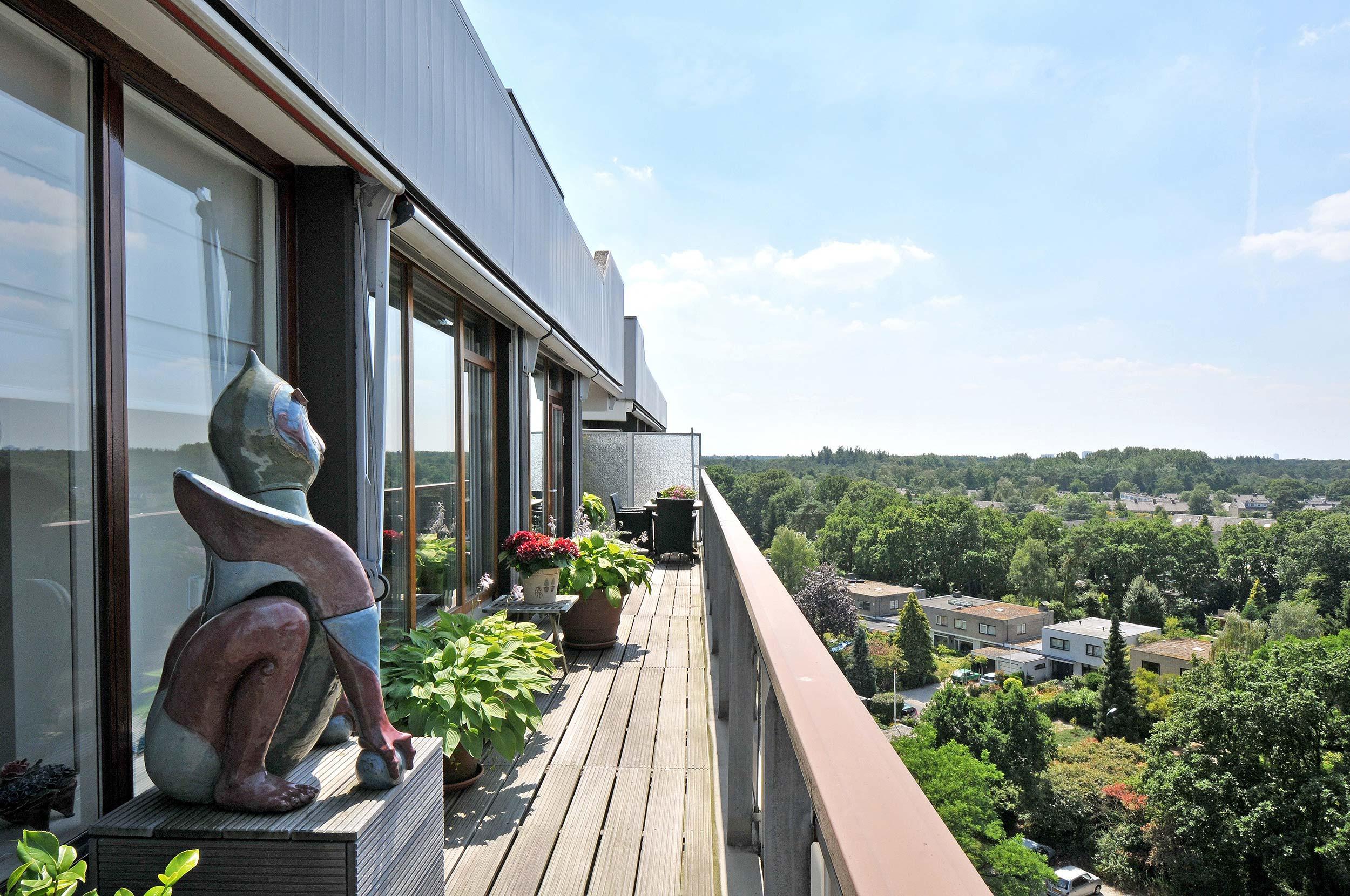 Serviceflat Houdringe balkon